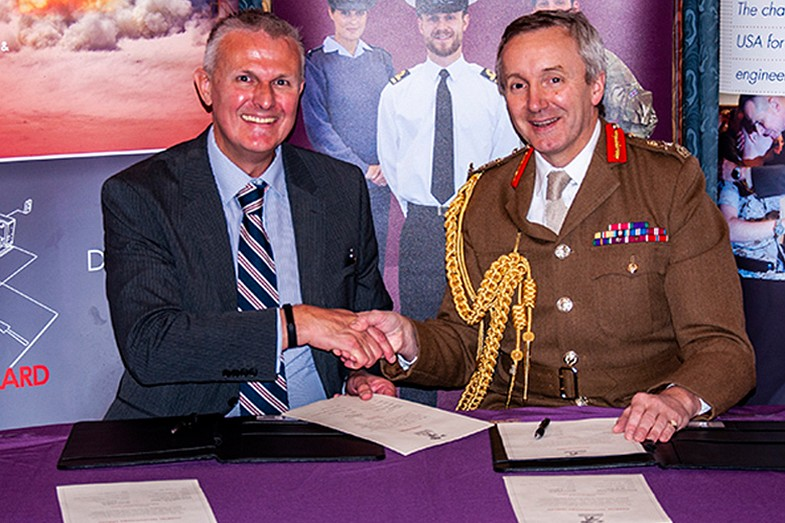 GUARTEL TECHNOLOGIES SIGNS THE ARMED FORCES COVENANT
